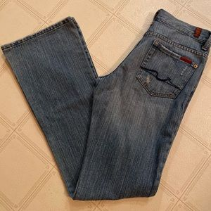 7 For All Mankind Jeans - 7 for all mankind Distressed Flare